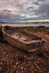 supplies for a journey:a cup, a bottle, a pan, and some rope (SCRIBE photography) Tags: uk england dorset mudeford sea quay bay estuary water river boat decay derelict abandoned boating cloud clouds twilight evening christchurch beach shore shoreline shingle stones