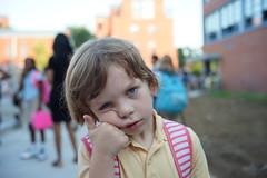 (patrickjoust) Tags: sony a7 manual focus lens adapter digital patrick joust patrickjoust baltimore maryland llewelyn md usa us united states north america estados unidos kid boy child portrait hot waiting
