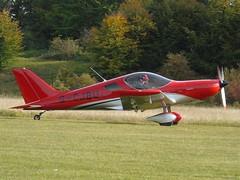 G-CJBU Bristell NG5 Speed Wing (c/n 385-15376) Popham (andrewt242) Tags: gcjbu bristell ng5 speed wing cn 38515376 popham