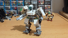 I ordered but I couldn't wait (hachiroku24) Tags: lego overwatch bastion set