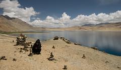 hello ... (DeCo2912) Tags: nomad woman cowgirl sand neil young tso moriri ladakh kashmir himalaya