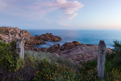 Freemans Knob, Port Elliot - South Australia (Trace Connolly Photography) Tags: australia natur natura natural nature naturaleza naturephotography colour color colourful outdoor outdoors outside eos canon sunlight exposure flickr landscape earth environment environmental environmentalphotography sunset sunrise contrast red green yellow blue black white scene scenery cloud clouds sky scenic weather holiday view country countryside seascape ocean beach sea seaside sand water rock rocks cove bay coast shore wave colorful