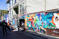 Balmy Alley #7 (satoshikom) Tags: canoneos6dmarkii canonef24105mmf4lisusm balmyalley missiondistrict mural street weekend sanfrancisco