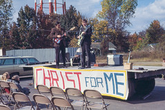 Christ For Me (John M Poltrack) Tags: 1960s imaging music musicians places religion sign scannedmedia technology time tennessee unitedstates lightroom
