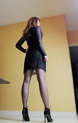 620 (Lily Blinz) Tags: crossdress crossdresser crossdressed crossdressing travesti transvestite transgender tranny transgenre trav trans tgirl lily lilyblinz blinz crossgender tranvestite stocking