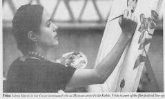 Selma Hayek / Salma Hayek (The Mandela Effect Database) Tags: residual evidence selma hayek presented by mandela effect database mandala mandelaeffect research residue name newspaperscom namechange