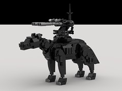 Epicyon Mech (shredder gunner) (demitriusgaouette9991) Tags: military lego army ldd armored powerful epicyon deadly runner mecha droid
