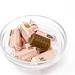 Super Fudgio - Vegane Karamellbonbons mit Toffee Geschmack ohne Milch in einer Glasschale