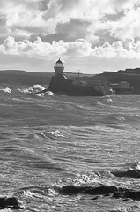 Balbriggan (rickybon) Tags: balbriggan lighthouse dublin ireland water sea landscape pentaxk5 pentaxflickraward pentaxart pentax k5 riccardobonelli bw