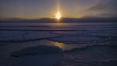 Finnish Dawn (CraDorPhoto) Tags: nokialumia1520 landscape seascape frozensea snow ice dawn sunrise morning sun haukilahti espoo finland sky outdoors nature
