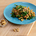 Hello Fresh - Autumn Kale-Spätzle-Noodle meal in creamy sauce with roasted walnuts on the side