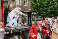 YMPST waggon play performance, College Green, 16 September 2018 - 13 (nican45) Tags: yorkmysteryplays2018 16september2018 16092018 18135 18135mm 2018 csc collegegreen fuji fujifilm mysteryplays nickansell september stwilliamscollege supporterstrust theharrowingofhell xt2 xf18135mmf3556rlmoiswr ymp ympst york yorkshire cast costumes mirrorless performance photographer photography waggon waggonplay wagon