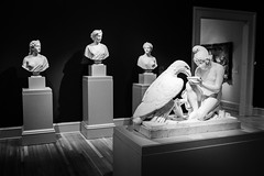 Scupltures (rickmcnelly) Tags: bw x100f sculpture chryslermuseum