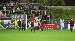 Lewes 3 Worthing 4 03 10 2018-126-2.jpg (jamesboyes) Tags: lewes worthing sussex football soccer fussball calcio voetbal amateur bostik isthmian goal score celebrate tackle pitch canon 70d dslr