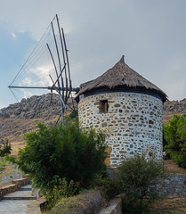 Windmill (Kontias - Kondias Village) Limnos - North Aegean - Greece (Olympus OM-D EM1-Mk2 &  M.Zuiko 12-40mm f2.8 Pro Zoom) (1 of 1) (markdbaynham) Tags: limnos lemnos greek greece grecia greka hellenic hellas greekisland greeceaegean greektown greekaegean gr olympus omd em1 em1ii em1mk2 em1mark2 csc mirrorless evil m43 mft olympusomd olympusgreece olympusmft olympusem1 olympusm43 mzd mzuiko zuikolic m43rd microfourthird microfourthirds micro43 micro43rd limonian myrina mypina myrinatown mz zd 1240mm windmill kontias