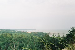 F2620031 (miglebeatrice) Tags: filmphotography film filmcamera 35mm sea beach seaside colour color road