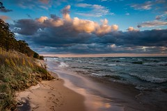 Lake Michigan Shoreline 2018 (Epperly Photographic Images) Tags: lake michigan sky clouds nature coastline beautiful nikon d800e