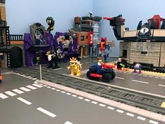 The Bad Side of Town WIP (Hobbestimus) Tags: lego moc 80s toys cartoon snakemountain terrordrome cobra mastersoftheuniverse skeletor evillyn texhex bravestarr koopa starscream gargamel krang gijoe
