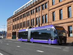GliderBus-Belfast-TitanicQuarter-P1510189 (citytransportinfo) Tags: glider bus exquicity vanhool translink belfast brt titanicquarter