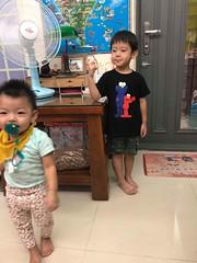 2018.8.28 朋友家玩耍 (amydon531) Tags: baby boys kids brothers justin jarvis family cute friends