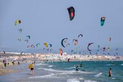 Tarifa playa de los Lances (Marc ALMECIJA) Tags: surf kite windsurf kitesurf plage palya sport extreme extrême outside outdoor sony rx10m3 espagne tarifa lances mer sea aqua