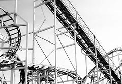 Jolly Roger Amusement Rides at the Pier | Ocean City, MD (delmarvausa) Tags: jollyroger amusements pier oceancitymd ocmd maryland amusementrides rollercoasters rollercoaster jollyrogeratthepier oceancity boardwalk rides summer boardwalkpier summertime oceancitymaryland color delmarva delmarvapeninsula easternshore midatlantic coastaldelmarva eastcoast beachtown coaster amusementpark rollercoasterride amusement oceancityboardwalk blackandwhitephotos blackandwhite monochrome track ride tracks