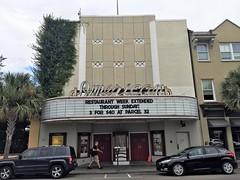 American Theatre (John Coursey) Tags: america charleston sc south carolina deco streamline neon marquee downtown urban uptown theater theatrecinemaejcoursey