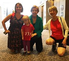 Run-in with Senator Warren on Capitol Hill!