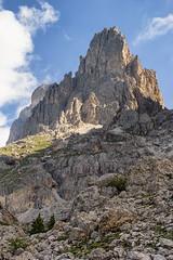 Cima Sforcella (cesco.pb) Tags: valdifassa valdega dolomiten dolomiti dolomites alps alpi trentino trentinoaltoadige italia italy sforcella catinaccio montagna mountains canon canoneos60d tamronsp1750mmf28xrdiiivcld