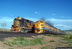 Pleased to Meet You (jamesbelmont) Tags: railway riogrande drgw passenger riograndezephyr streamliner emd f9 gp402 colton soldiersummit utah