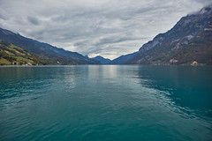 Lake Walen – Cloudy (Thomas Mülchi) Tags: walensee lakewalen lakewalenstadt cantonofstgallen switzerland 2018 lake churfirsten churfirstenmountainrange mountain mountains unterterzen clouds cloudy ch