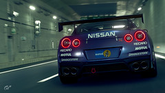 Nissan GT-R (Matze H.) Tags: nissan gtr gr4 gt sport gran turismo playstation 4 pro uhd hdr 4k wallpaper screenshot render ingame tunnel tokyo race track car