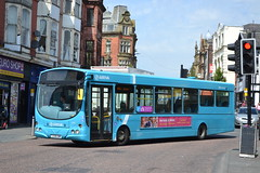 Arriva North West 2699 CX58EWM (Will Swain) Tags: wigan 21st may 2018 north west greater manchester bus buses transport travel uk britain vehicle vehicles county country england english williamsdigitalcamerapics101 arriva 2699 cx58ewm