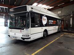 Renault/Irisbus Agora S GNV n°432 (alexandrebertrand60) Tags: bus dépôt stde dkbus dunkerque agora s gnv l renault irisbus