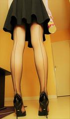 611 (Lily Blinz) Tags: crossdress crossdresser tgirl travesti transvestite tranny transgender transgenre trav trans lilyblinz blinz stocking crossdressed