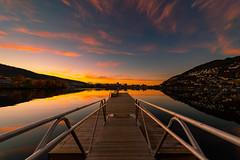Bergen sunset (simengjelsvik) Tags: sonya7riii sony sonyalpha sonya7 landscape reflexions norge norway sunset sunrise cityscape