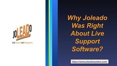 Why Joleado Was Right About Live Support Software (joleadosocial) Tags: live support software chat usa business website michigan grandville supportsoftware chatsoftware livechatsoftware