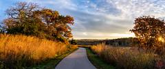 Warming Light (Mitymous) Tags: doorcreekpark fall2018 morning reflections sunrise walk wisconsin