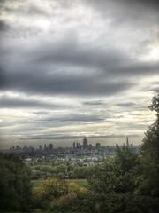 Sun breaks over Kentish Town (marc.barrot) Tags: cloudy park landscape skyline city kentishtown kitehill uk nw3 london heath hampstead shotoniphone