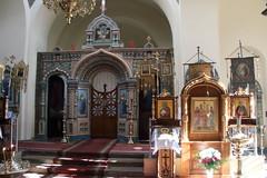 036A8840 (zet11) Tags: poland podlasie białowieża orthodoxchurch interior icons