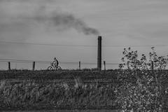 Cologne Friday-119.jpg (Rhinodad) Tags: 2018 cologne bicycle industrial germany industry bike rhine smokestack duisburg northrhinewestphalia de