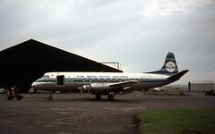 PH-VIF. Ex KLM Vickers V.803 Viscount (Ayronautica) Tags: 1965 september phvif vickersv803viscount klm turboprop propliner airliner ayronautica aviation scanned prestwick egpk pik
