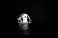 Hobbit Hole (stephen cosh) Tags: 35mmsummilux blackandwhite candid film israel jerusalem leicam7 lowlight stephencosh streetphotography trix400