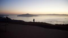 San Francisco Bay Area & Rene, Alone. (Greg Vierra) Tags: sanfranciscobayarea angelisland sanfranciscobay tiburon northpeak mtdiablo batteryspencer goldengatebridgenorthtower sunrisetwilight