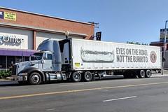 Chipotle Truck (So Cal Metro) Tags: truck peterbilt chipotle burrito sandiego hillcrest semi tractortrailer gsf goldenstatefoods