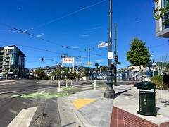 Follow The Wiggle (waltarrrrr) Tags: sanfrancisco july 2018 bikesf thewiggle bikepath bikeroute marketstreet castro