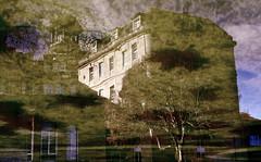 Balneario de Mondariz (andressolo) Tags: building buildings edificio edificios balneario mondariz reflection reflections reflected reflejos reflejo pond puddle water agua