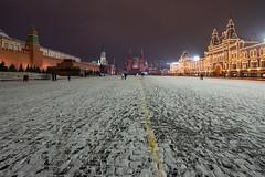 Red Square (gubanov77) Tags: redsquare moscow russia city cityscape street streetscape urban night краснаяплощадь gum гум