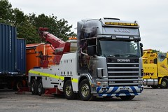 Walls Truck Services Ltd Scania 124G Topline Recovery Lorry WH04 TOW (5asideHero) Tags: truckfest south west 2018 recovery vehicles scania 124g topline wh04tow walls truck services ltd