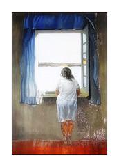 La jeune femme à la fenêtre (Jean-Louis DUMAS) Tags: streetart art artistic artist artistique artdelarue arts peinturemurale peinture peintre femme woman